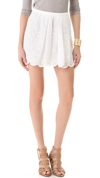Girl. by Band of Outsiders Lace Skirt from shopbop.com