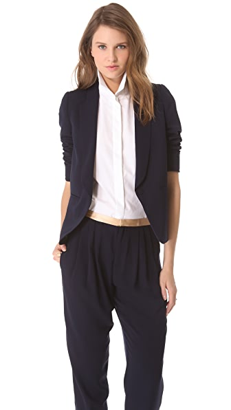 Girl. by Band of Outsiders Cabrini Suiting Blazer