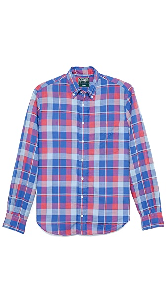 Gitman Vintage Rose Madras Shirt
