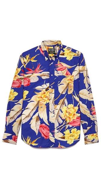 Gitman Vintage Birds of Paradise Shirt