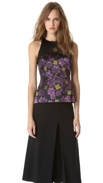 Giulietta Golightly Jewel Print Top