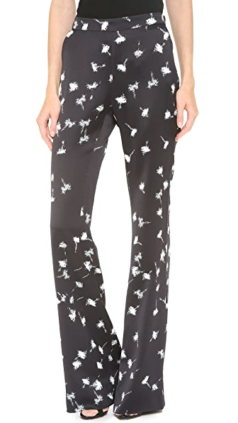 Giulietta Print Sateen Pants