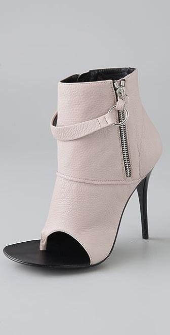 Giuseppe Zanotti Open Toe Thong Booties