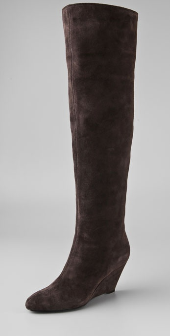Giuseppe Zanotti Above the Knee Wedge Boot