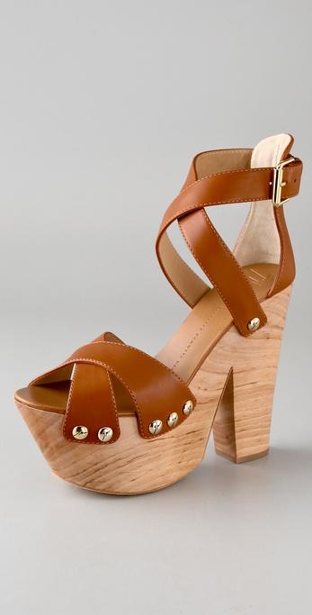 Giuseppe Zanotti High Platform Clog Sandals