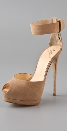 Giuseppe Zanotti Open Toe Platform Sandals
