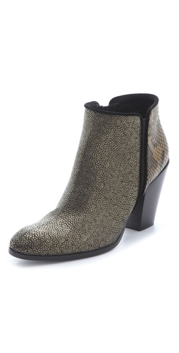 Giuseppe Zanotti Mixed Texture Booties