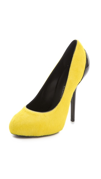 Giuseppe Zanotti Haircalf Platform Pumps