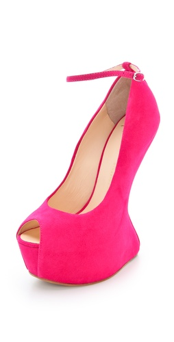 Giuseppe Zanotti Jem Sculptural Pumps at Shopbop.com