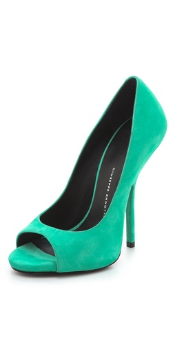Shop Giuseppe Zanotti Open Toe Pumps and Giuseppe Zanotti online - Footwear,Womens,Footwear,Pumps_(Heels), online Store