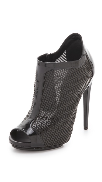 Giuseppe Zanotti Netted Booties