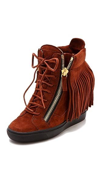 Giuseppe Zanotti Lorenz Wedge Sneakers