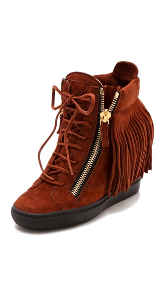Giuseppe Zanotti Lorenz Wedge Sneakers