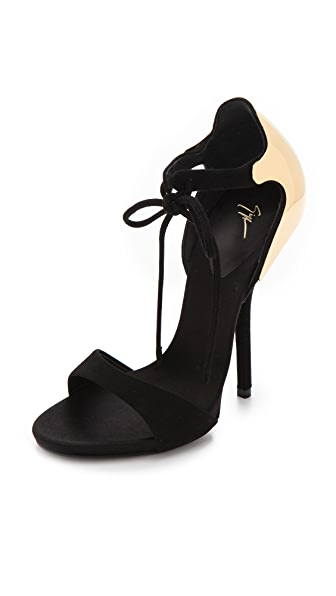 Giuseppe Zanotti Strapped Sandals with Metal Back