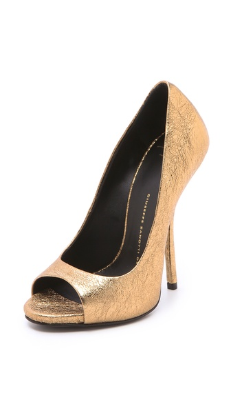 Giuseppe Zanotti Open Toe Pumps