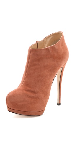 Giuseppe Zanotti Eva Suede Platform Booties at Shopbop / East Dane