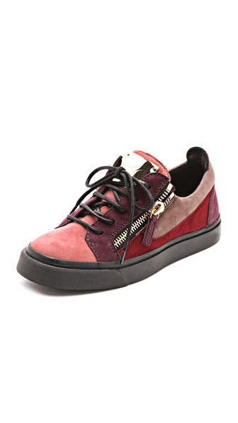 Giuseppe Zanotti London Zip Low Sneakers