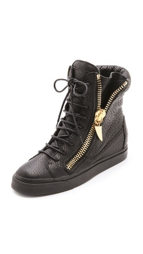 Giuseppe Zanotti London Zip High Sneakers