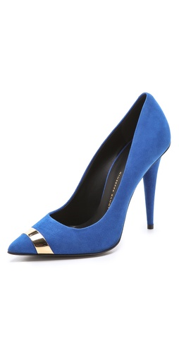 Giuseppe Zanotti Suede Pumps at Shopbop / East Dane