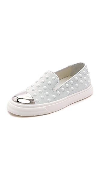 Giuseppe Zanotti Giuseppe Zanotti Studded Toe Cap Sneakers