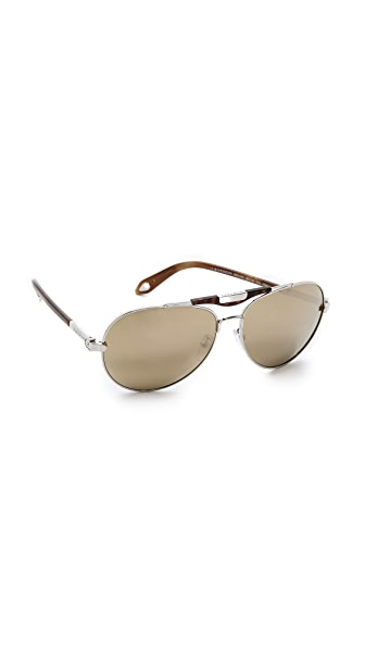 Givenchy Givenchy Aviator Sunglasses (Multicolor)