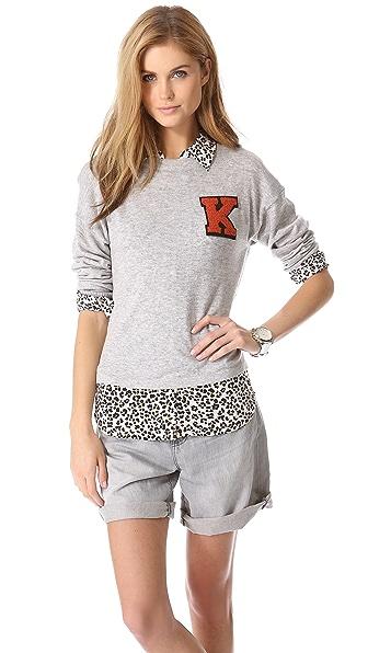 Glamorous Varsity Letter Sweater