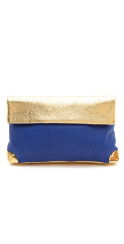 Golden Lane Small Metallic Duo Clutch at Shopbop / East Dane