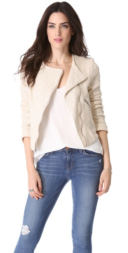 Generation Love Duncan Boucle Moto Jacket