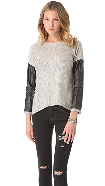 Generation Love Bobo Metallic Top