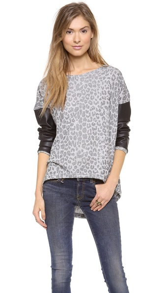 Generation Love Bobo Leopard Top