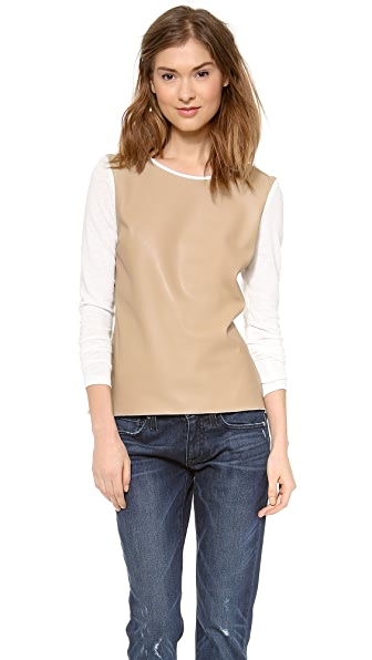 Generation Love Phoenix Leather Front Top