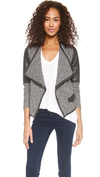 Generation Love Twist Boucle Cardigan