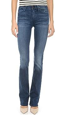 GOLDSIGN Quinn Slim Boot Cut Jeans
