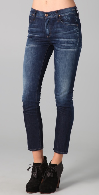 GOLDSIGN Jenny High Rise Slim Leg Jeans