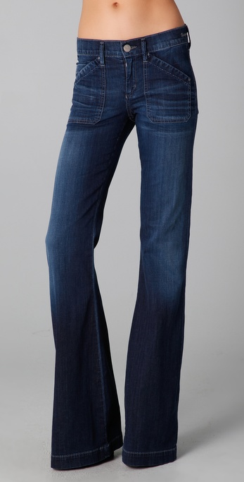 GOLDSIGN Unique Flare Jeans
