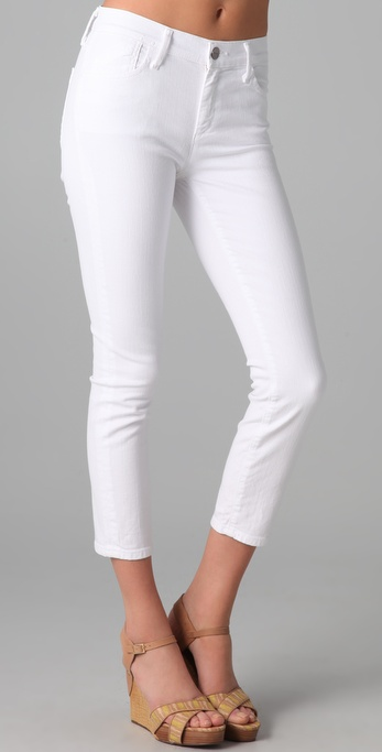 GOLDSIGN Thrill Cropped Skinny Jeans