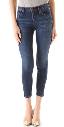 Shop GOLDSIGN Virtual High Rise Skinny Jeans and GOLDSIGN online - Apparel,Womens,Bottoms,Jeans, online Store