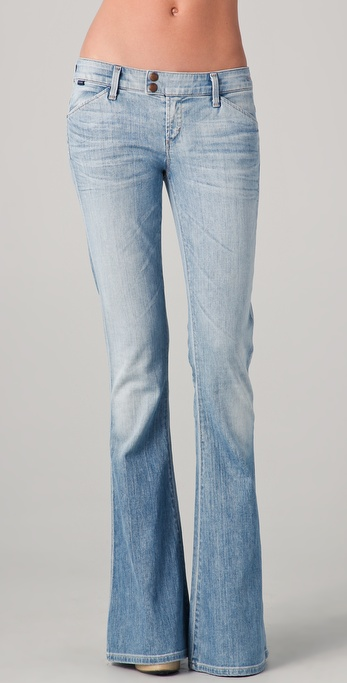 GOLDSIGN Provocative Flare Jeans
