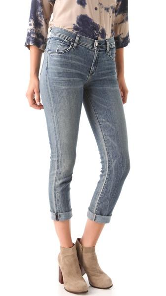 GOLDSIGN Jenny Cropped Jeans