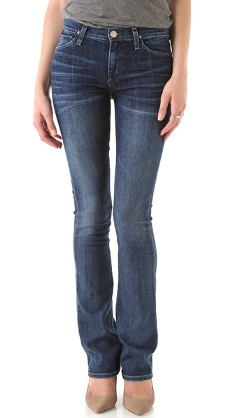 GOLDSIGN Quinn Slim Bootcut Jeans