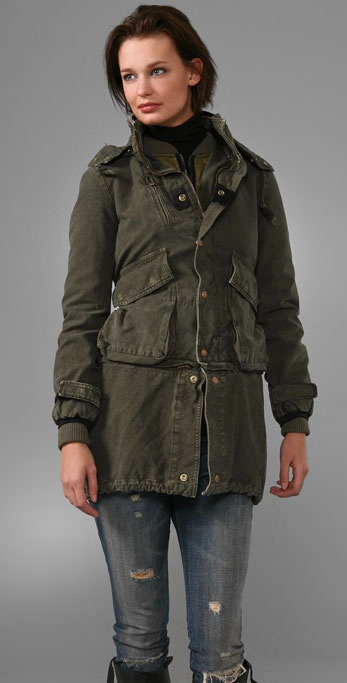 Golden Goose Long Parka