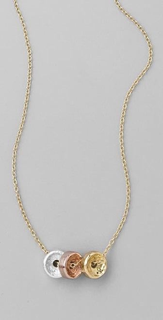 Gorjana Multicolor Bronson Necklace