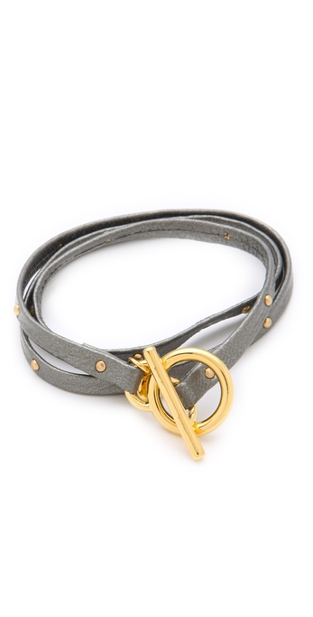 Gorjana Graham Studded Wrap Bracelet
