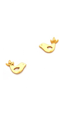 Gorjana Love Bird Stud Earrings