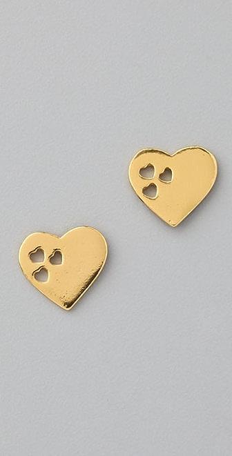 Gorjana Heartbeat Studs Earrings