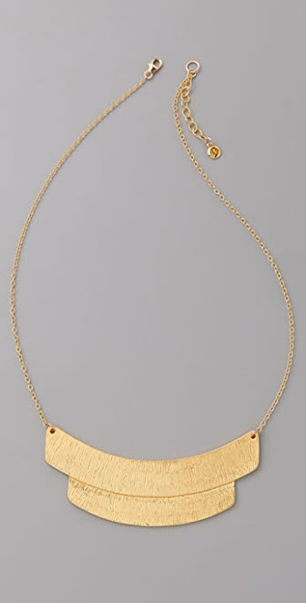 Gorjana Tusk Tiered Pendant Necklace