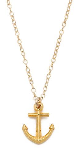 Gorjana Anchor Necklace