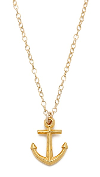 Gorjana Anchor Necklace