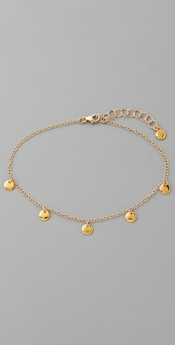 Gorjana Sand Disk Anklet