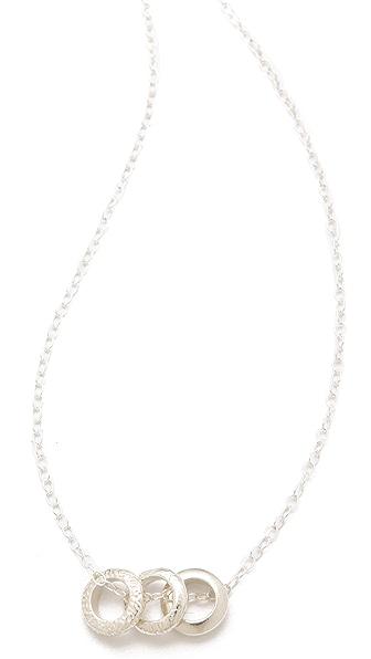 Gorjana Morocco Ring Necklace